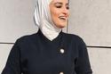 طرق مختلفة لارتداء الحجاب الأبيض على طريقة الفاشينيستا دلال الدوب