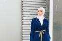 طرق مختلفة لارتداء الحجاب الأبيض على طريقة دلال الدوب