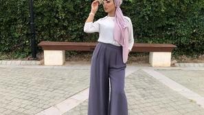 أزياء محجبات ناعمة نسقيها مع التوربان لإطلالتك في ربيع 2019