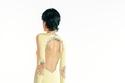 فستان باللون الأصفر الباهت من Givenchy