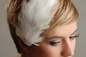 تسريحة عروس لصاحبة الشعر القصير