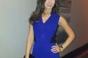 أناقة نانسي عجرم باللون النيلي في مجموعة صور