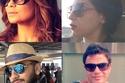 بالصور: نظارات شمس المشاهير بين الموضة وإخفاء التعب