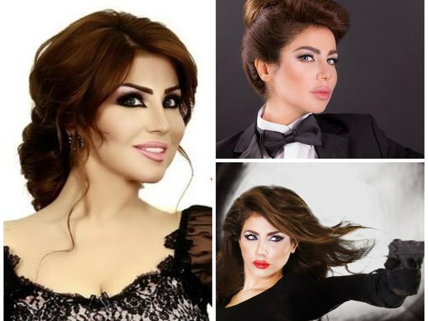 أجمل تسريحات الإعلامية الكويتية حليمة بولند