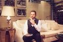 نيكول سابا ويوسف الخال في جلسة تصوير خاصة مع مجلة ليالينا