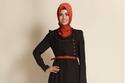 للمحجبات... تألقي بحجاب أحمر في عيد الحب