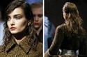 أسبوع الموضة في لندن: الشعر الرطب والمفروق أبرز اتجهات الشعر في شتاء 2014