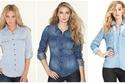 10 قمصان جينز عملية لإطلالة أكثر جاذبية