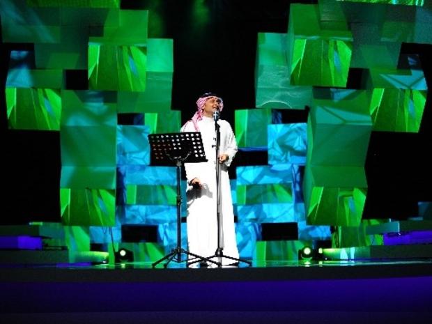 صور حفل عبد المجيد عبدالله الأول بعد غياب 15 سنة عن المسرح