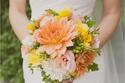 أجمل باقات الورود لعروس 2014 المختلفة