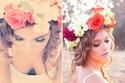 أفكار تيجان من الورد لعروس موسم ربيع 2014