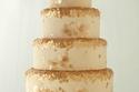كعكات زفاف بلمسات ذهبية