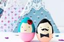 أفكار لتزيين وتلوين بيض عيد شم النسيم