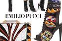 أحذية وحقائب واكسسوارات Emilio Pucci لصيف 2014
