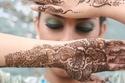 نقوش حناء عروس خليجية وهندية