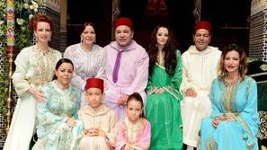 صور أجمل قفاطين الأميرات المغربيات من مناسبات العائلة الملكية الأخيرة