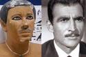 أحمد مظهر وقرينه الفرعوني