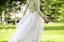نجمة تليفزيون الواقع أوليفيا باليرمو تتألق بفستان زفافها البسيط فمن صممه