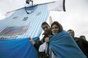 صور استقبال منتخب الأرجنتين كإستقبال الأبطال