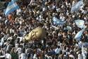 صور استقبال منتخب الأرجنتين كإستقبال الأبطال 2