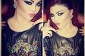 صور مكياج هيفاء وهبي بريشة خبيرة التجميل رانيا قيس