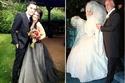 أغرب 20 فستان زفاف للمشاهير بعيدة تماماً عن التقاليد