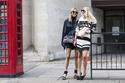 """أجمل إطلالات ال""""street style"""" في أسبوع الموضة في لندن"""