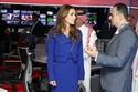 صور الملكة رانيا في زيارة خاصة لمجموعة قنوات MBC في دبي