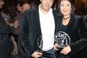 الإعلامية منى الشاذلي وزوجها سمير يوسف