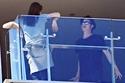 صور مشادة حامية بين أنجيلينا جولي وبراد بيت في أحد فنادق سيدني