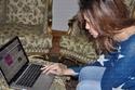 صور ليالينا في زيارة خاصة للنجمة آمال ماهر في منزلها