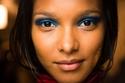 ظلال عيون باللون الأزرق لربيع 2014