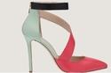 أحذية إيلي صعب للرحلات 2015 بالألوان المعدنية