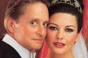 زفاف كاترين زيتا جونز ومايكل دوغلاس كلف 1.5 دولار عام 2006