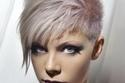 تسريحات شعر قصير مع الغرة الجانبية