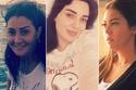 صور الحناء وتاتو الحواجب يرسم وجوه الفنانات العرب بدون مكياج