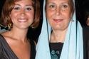 منة شلبي مع والدتها زيزي مصطفى