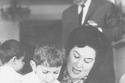 ليلى مراد وابنها زكي فطين عبد الوهاب