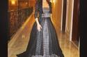 صور ميريام فارس أناقة لا تضاهى بفساتين السهرة الطويلة