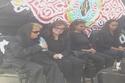 صور تشييع الراحل الكبير عبد الرحمن الأبنودي في جنازة عسكرية