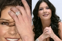 المرتبة 9: خاتم كاثرين زيتا جونز بحجر ألماس 10 قيراط ثمنه مليون دولار