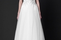 أجمل موديلات فساتين زفاف طوني ورد لعروس العيد وصيف 2015