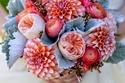 مسكات عرايس جديدة من الورد الطبيعي لعروس العيد في 2015