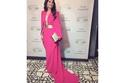 رابعة الزيات ترتي فستان مستوحى من القفطان المغربي