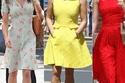 صور خيارات النجمات من الفساتين الصيفية في إطلالات نهارية مشعة