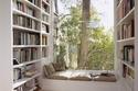 أفكار مميزة لديكورات المكتبات المنزلية