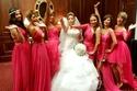 صور مي كساب تتألق بفستان زفاف وإطلالة تقليدية في ليلة العمر