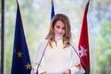 خلال افتتاح مؤتمر تجمع رجال الأعمال الفرنسيين