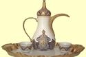 دلال قهوة تقليدية لتقديم القهوة في العيد