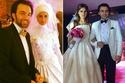 صور مشاهير تزوجوا بعض مرتين على الشاشة وفي الحقيقة، أي زفاف كان الأجمل؟